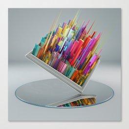 El espejo Canvas Print
