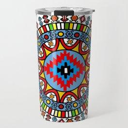 Pirot Mandala Travel Mug