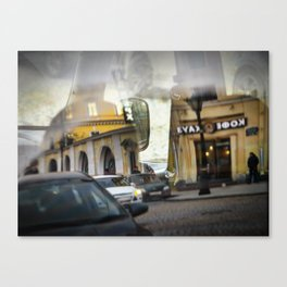 The reflected city 2 Canvas Print