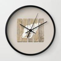 seashell Wall Clocks featuring Seashell by Alyn Spiller