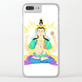 Avalokiteshvara Clear iPhone Case