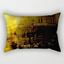 1st arrondissement-yellow Rectangular Pillow