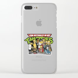 thirties simson Clear iPhone Case