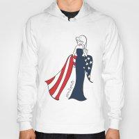 patriotic Hoodies featuring Patriotic Sophie by philoSophie's