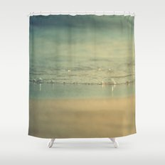 Glup glup Shower Curtain