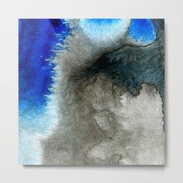 black&blue 11 Metal Print