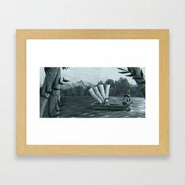 One Spring Day 2 Framed Art Print