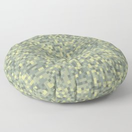 Modern Military camouflage pattern 1 Floor Pillow