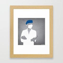 Anesthesiology Framed Art Print