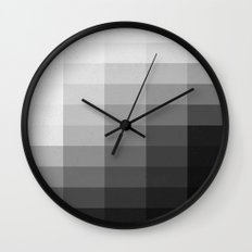 Fifty Shades of Gradient Wall Clock