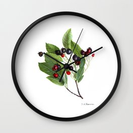 Canadian Serviceberry Wall Clock
