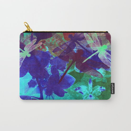 Dragonflies W Carry-All Pouch