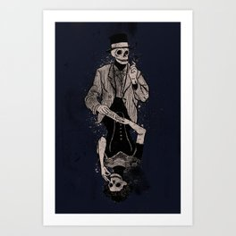 Dead Game Art Print