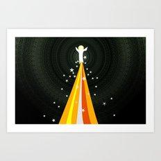 Transfiguration (by Steve Brubaker) Art Print