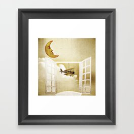 Window to Heaven Framed Art Print