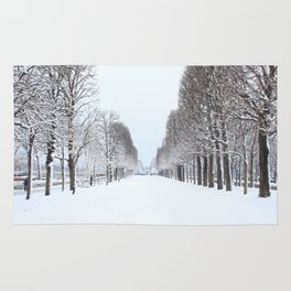 Tree avenue,Paris Rug