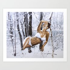 ODALISQUE Art Print