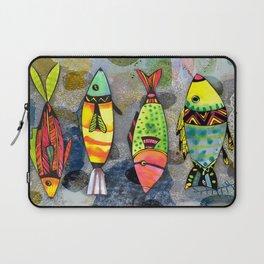 Tribal Fish Laptop Sleeve
