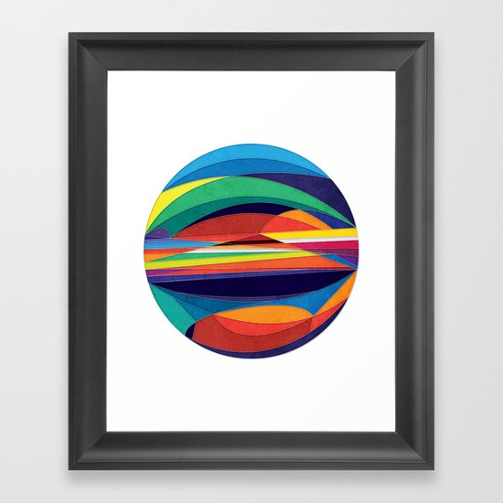 Turn Around Framed Art Print
