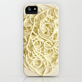 Spaghetti iPhone Case