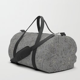 Inventory in Grey Duffle Bag