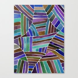 Striped Play Canvas Print