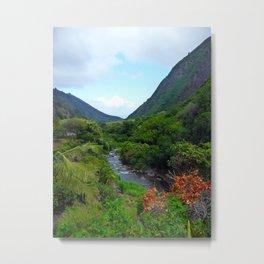 Iao Valley Metal Print