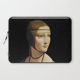 THE LADY WITH AN ERMINE - DA VINCI Laptop Sleeve