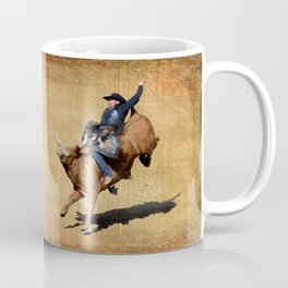 Bull Dust! - Rodeo Bull Riding Cowboy Coffee Mug