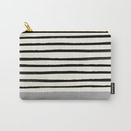 Storm Grey x Stripes Carry-All Pouch