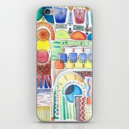 WATERCOLOR WHIMSY iPhone Skin