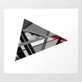 Venus of Triangle Art Print