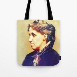 Louisa May Alcott, Literary Legend Tote Bag