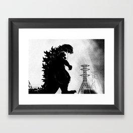 Godzilla (1954) Framed Art Print