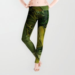Absinthe La Fee Verte Leggings