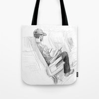jfk Tote Bags featuring ATH>JFK by vagabond visuals