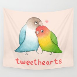 Tweethearts Wall Tapestry
