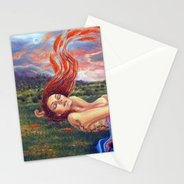 The Birth of Phoenix Stationery Cards