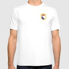 logo madrid White MEDIUM Mens Fitted Tee