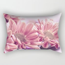 Aster flower macro 254 Rectangular Pillow