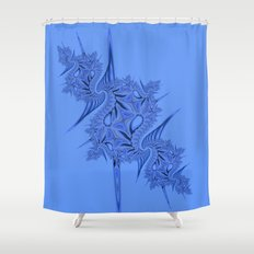 Fractal 84 Shower Curtain