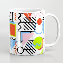 Circle Square Triangle Coffee Mug