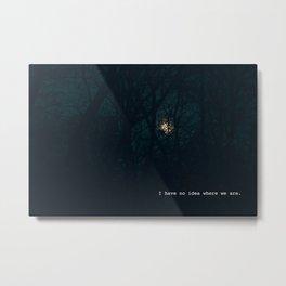 Moon Light Metal Print