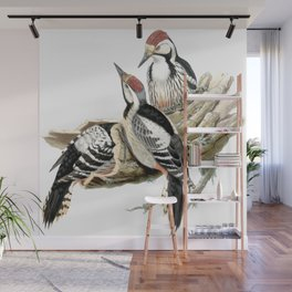 Woodpecker Wall Mural