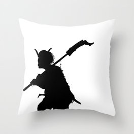 it's time to fish souls Throw Pillow
