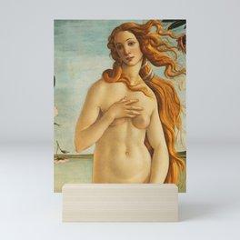 "Sandro Botticelli ""The birth of Venus"" detail (2) Mini Art Print"