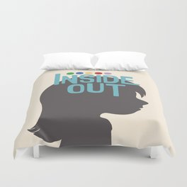 Inside Out - Minimal Movie Poster Duvet Cover