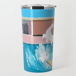 Bigger Splash Llama Travel Mug