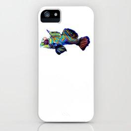 Mandarin Goby dragonet iPhone Case