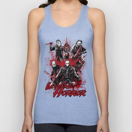 LEGENDS OF HORROR GRAY Unisex Tank Top